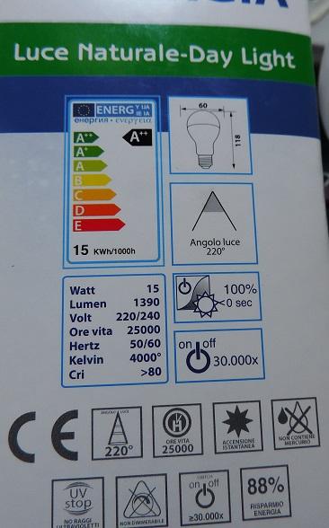 Schema Elettrico Lampada Led 220v : Camperisti impianto elettrico