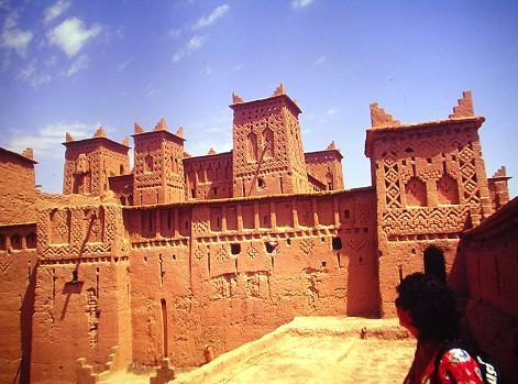 Kasbha in Marocco